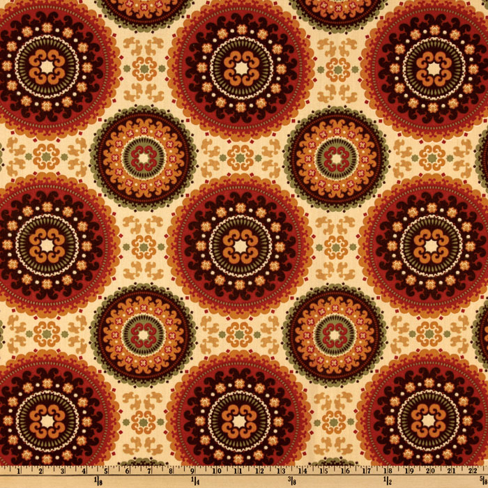 Richloom Indoor/Outdoor Bindis Garden Home Decor Fabric