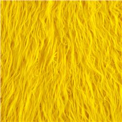 Faux Fur Lofty Mongolian Fur Yellow