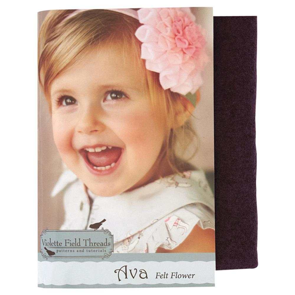 Violette Field Threads Ava Flower Kit Plum