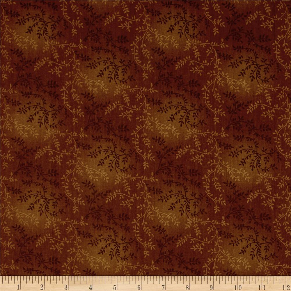 "108"" Wide Quilt Back Tonal Vineyard Brown"