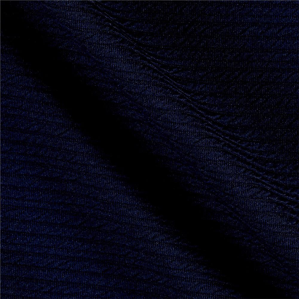 Ottoman Double Knit Solid Royal/Navy