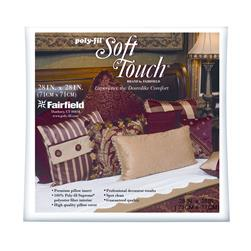 "Fairfield Soft Touch Supreme Poly-Fil Pillow 30"" Square"