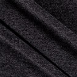 Baby Rib Knit Dark Grey