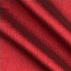 Poly Two Tone Chiffon Cranberry Fabric
