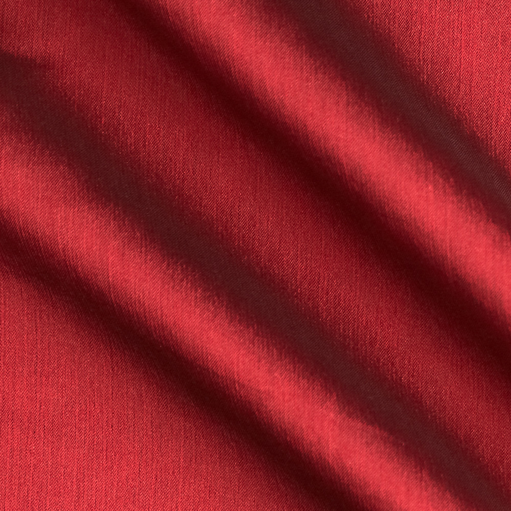 Poly Two Tone Chiffon Cranberry Fabric by Richland in USA