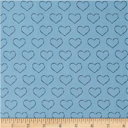 Chocoholics Heart Tonal Blue