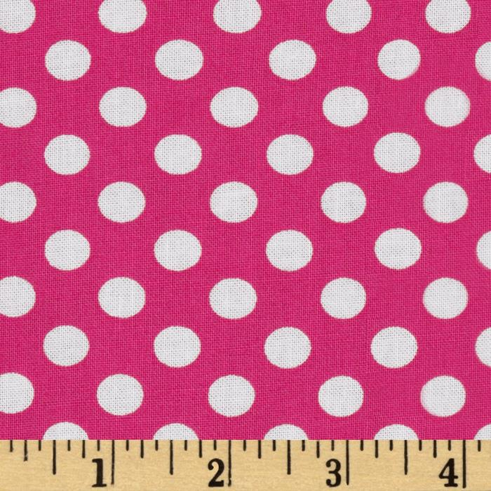 Spot On Medium Dot Hot Pink