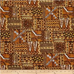 Hoffman Tropical Collection Mayan Brown