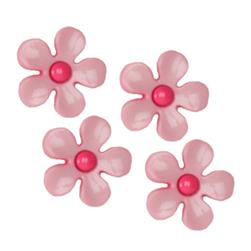 Novelty Button 3/4'' Flirty Pink