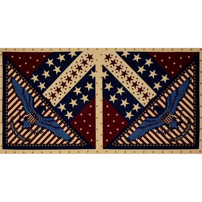 Quilts of Valor Eagle 24'' Panel Natural