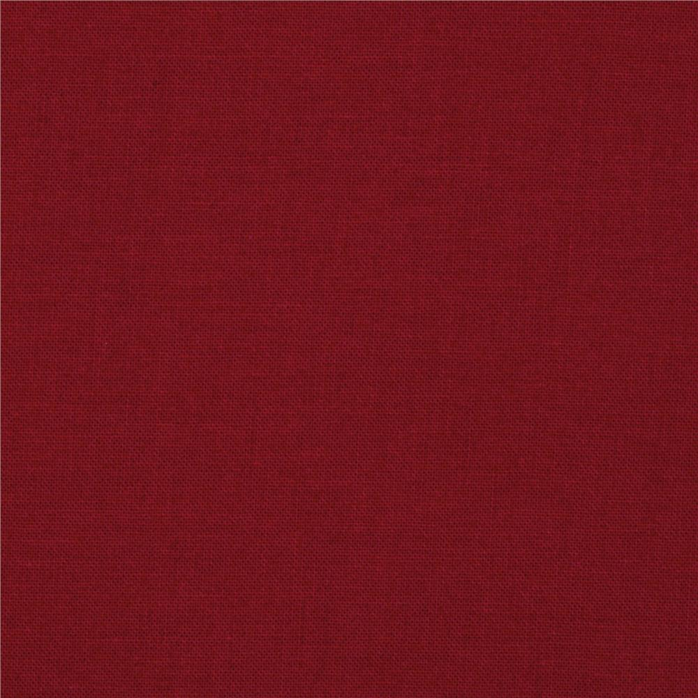 Kona cotton ruby discount designer fabric for Fabric purchase