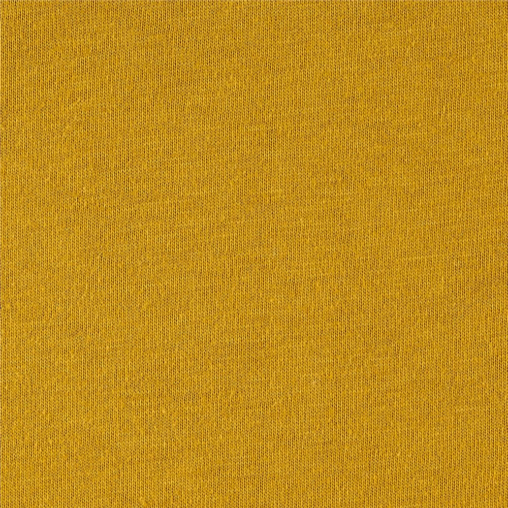 1810bc509c3 Fabric Merchants Cotton Jersey Solid Yellow Mustard - Discount ...