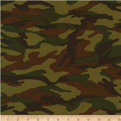 Kaufman Sevenberry Camouflage Camo Camouflage