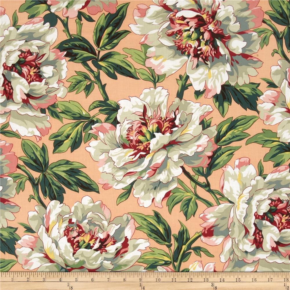Kaffe Fassett Spring 2014 Collective Earth Tree Peony Peach