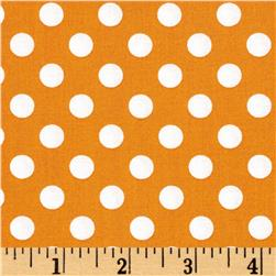 Maywood Studio Kimberbell Basics Dots Orange
