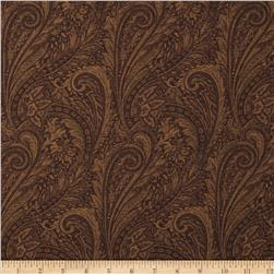 "118"" Wide Lauren Paisley Brown"