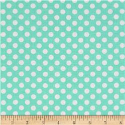 Kaufman Spot On Medium Dot Pond Fabric