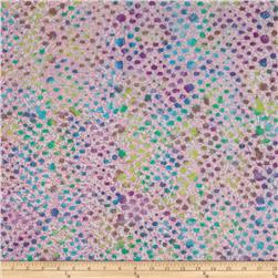 Indian Batik Dot Pink/Plum
