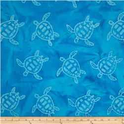 Indian Batik Sandy Hook Turtle Aqua