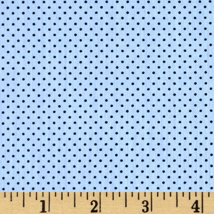 Paris Poplin Dot Periwinkle