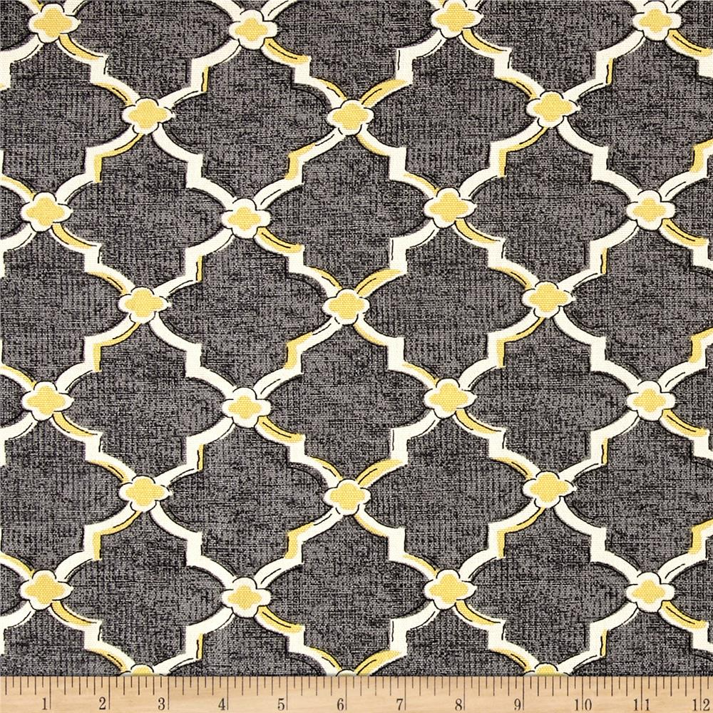 grey and yellow home decor fabric shop online at. Black Bedroom Furniture Sets. Home Design Ideas