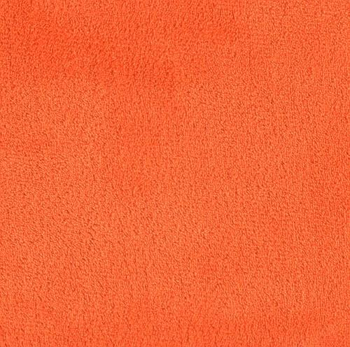 Double-Sided Minky Fleece Orange