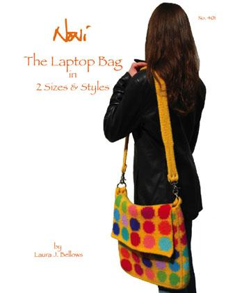 Noni Laptop Bag Pattern In Two Sizes & Styles