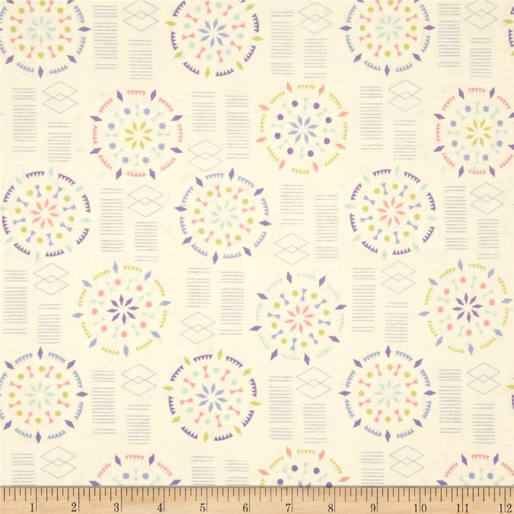 Kaleidoscope Mandala Light Cream