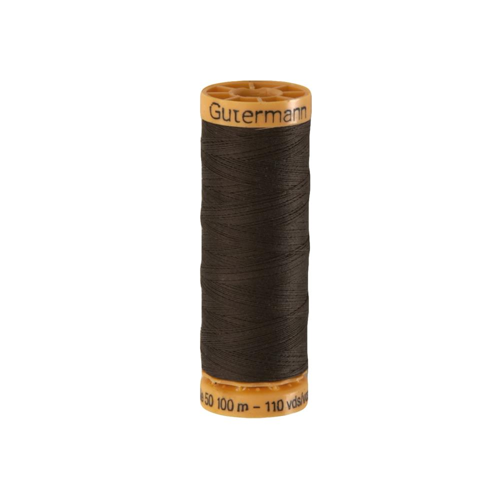 Gutermann Natural Cotton Thread 100m/109yds Chestnut