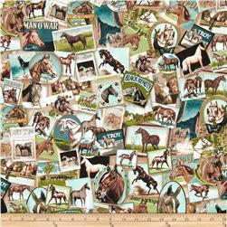 Band of Horses Collage Vintage