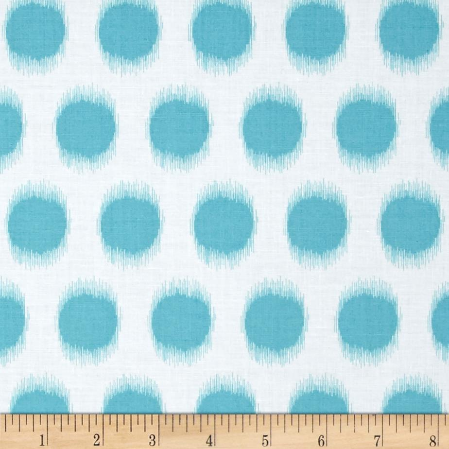 Butterfly Garden Ikat Dot Turquoise
