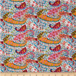 Paris Poplin Paisley Multi