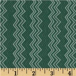 Silk Road Cassandra Zig Zag Slate Blue Fabric