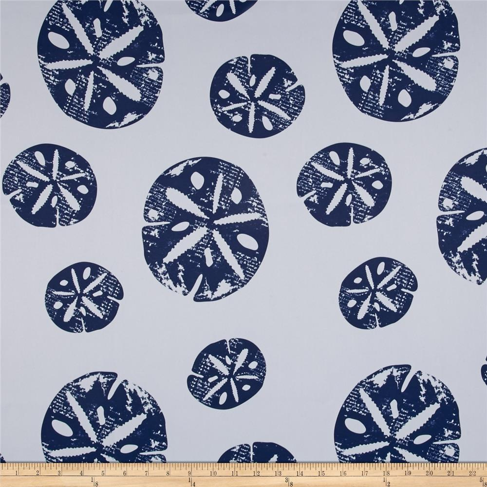 RCA Blackout Drapery Fabric Sand Dollar Navy