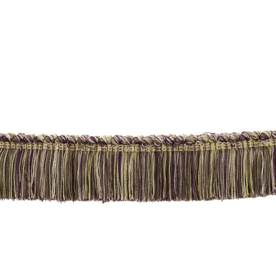"Fabricut 2"" Honeybell Brush Fringe Berry"