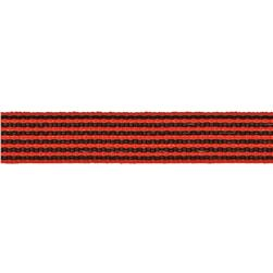 1/2'' Twill Tape Stripes Orange/Black