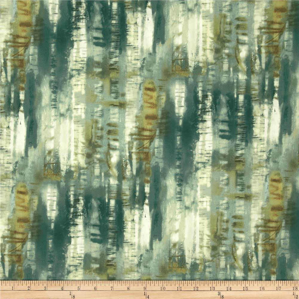 Natural Instincts Tree Texture Teal