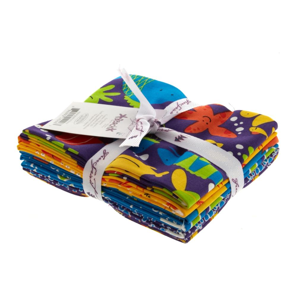 Beach Fat Quarter Assortment Ocean