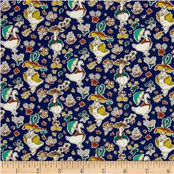 Liberty of London Tana Lawn Goosey Gladrags Blue/Multi