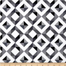 Kaufman Geo Pop Canvas Home Decor Diamond Plaid Peopper