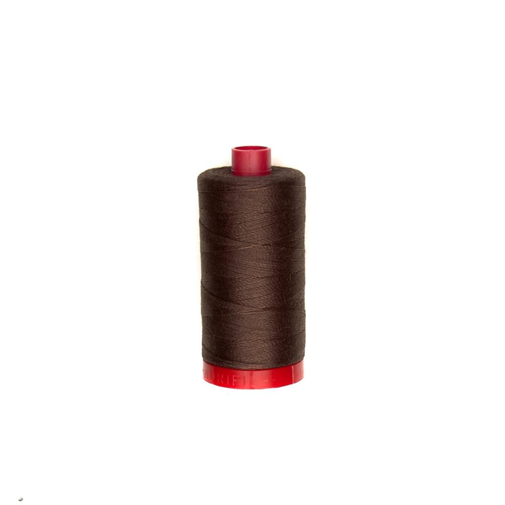 Aurifil 12wt Embellishment and Sashiko Dreams Thread Chocolate