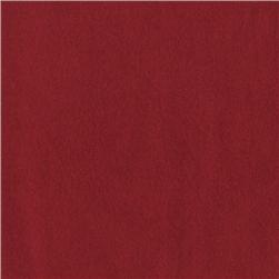 108'' Wide Flannel Quilt Backing Burgundy Red