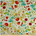 Art Gallery Abloom Fusion Rayon Challis Budquette Abloom