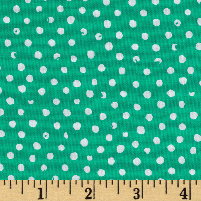 Confetti Dot Parrot Fabric