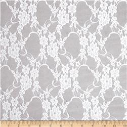Avita Stretch Lace Ivory Fabric