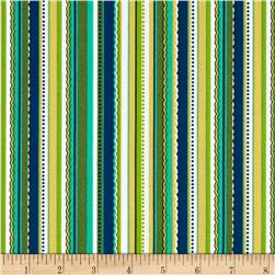 Cypress Decorative Stripe Emerald