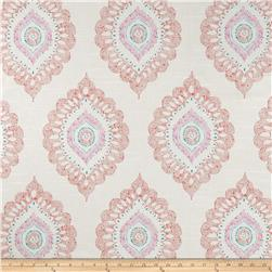 Home Accents Aladdion Medallion Slub Spice Fabric
