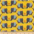 Windham Rumble Happy Elephants  Yellow