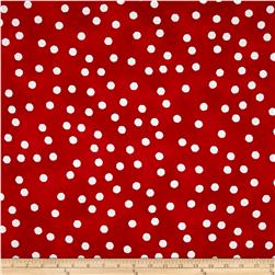 Happy Cats Jumbo Dots Red