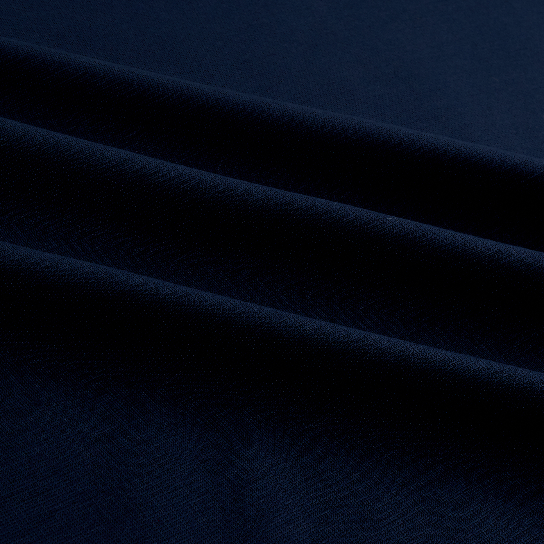 Ponte Fino Knit Navy Fabric